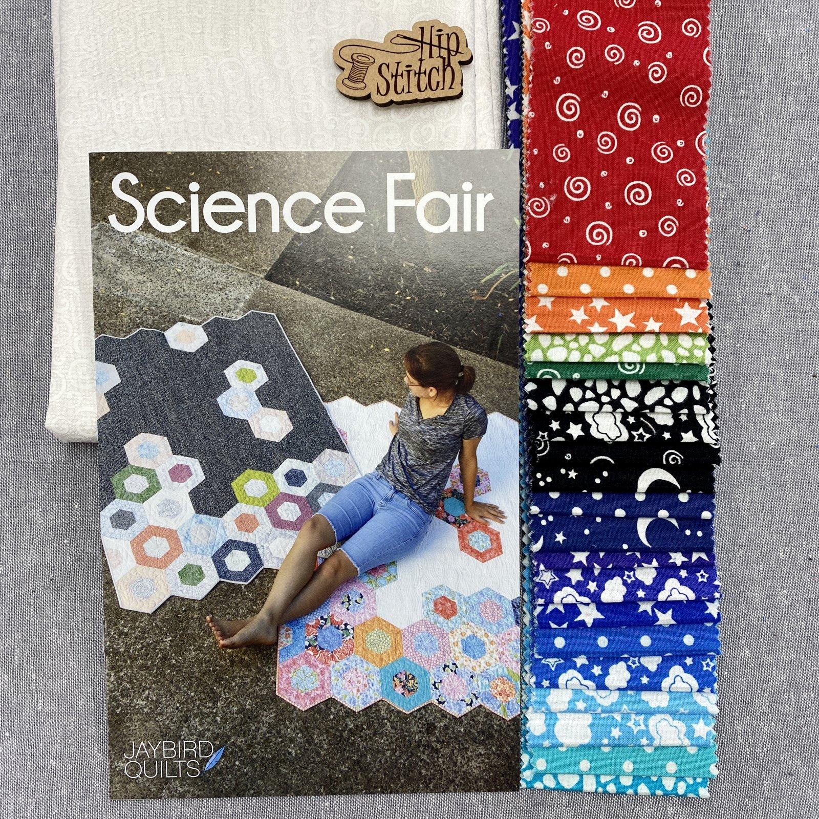 Science Fair Glow in the Dark Quilt Kit