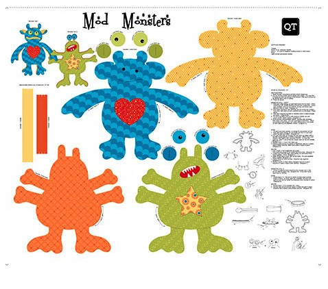 Mod Monsters Sew 'n Go