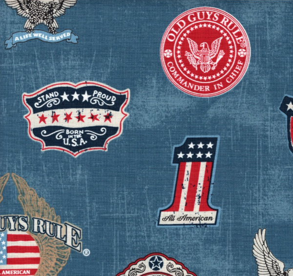 Old Guys Rule Denim Patch