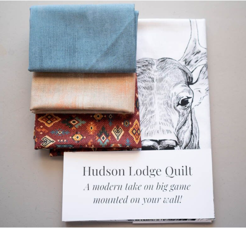 Hudson Lodge Quilt Kit - Red Canyon Creek