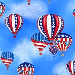America Home of the Brave Hot Air Balloons