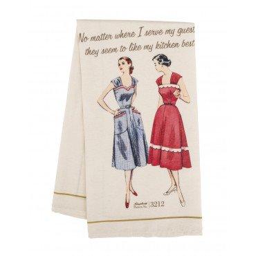Simplicity Vintage Tea Towel 3212