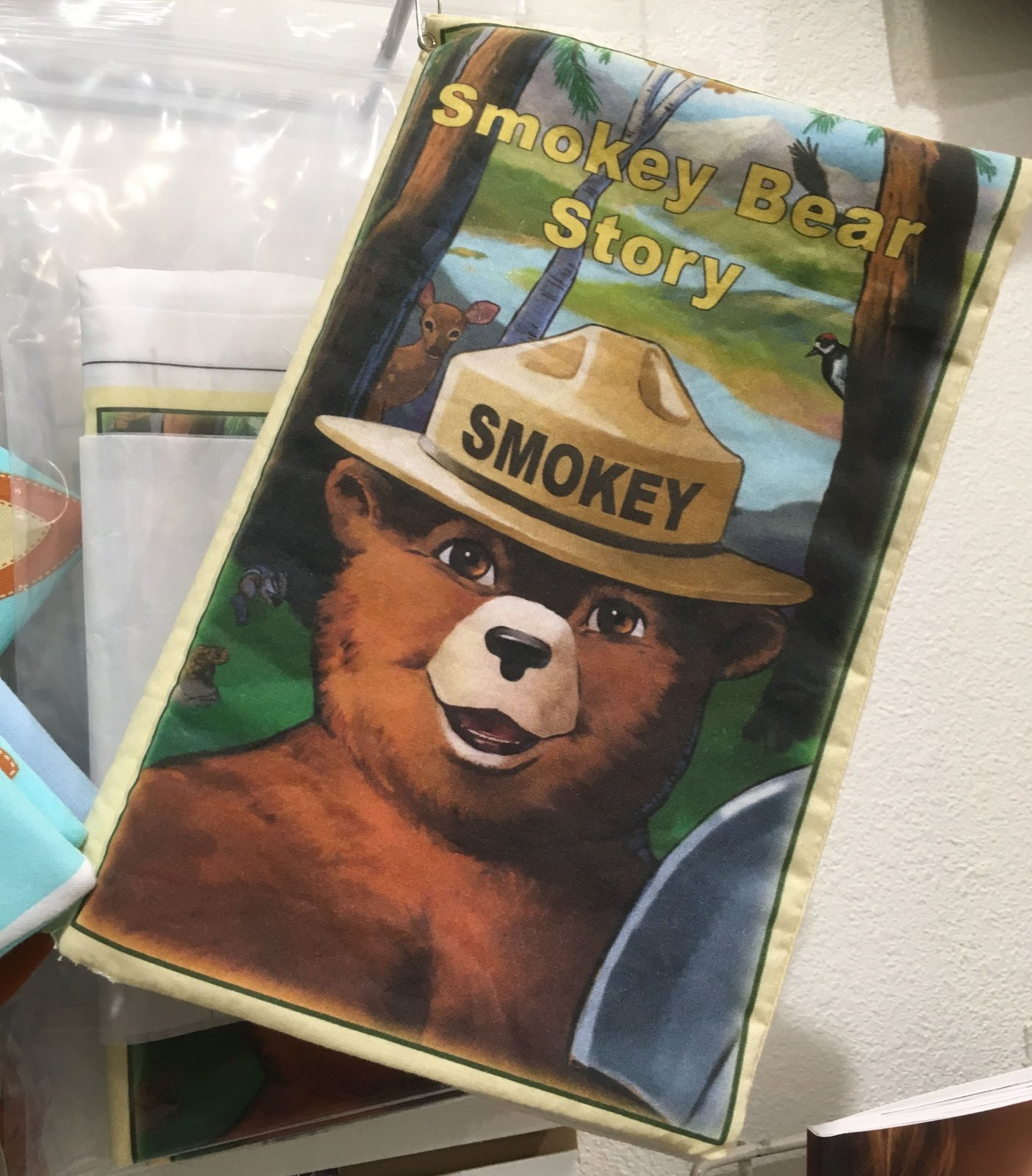 Smokey Bear Soft Book