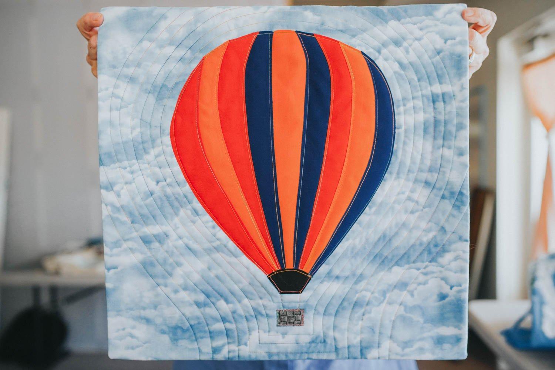 Striped Hot Air Balloon Kit