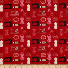 Couturiere - Red Sewing Machines