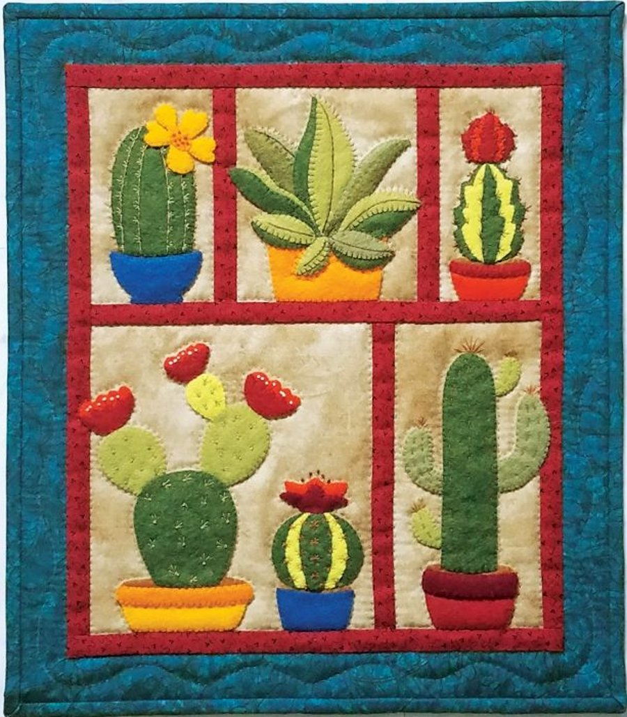 Succulents Embroidery Kit