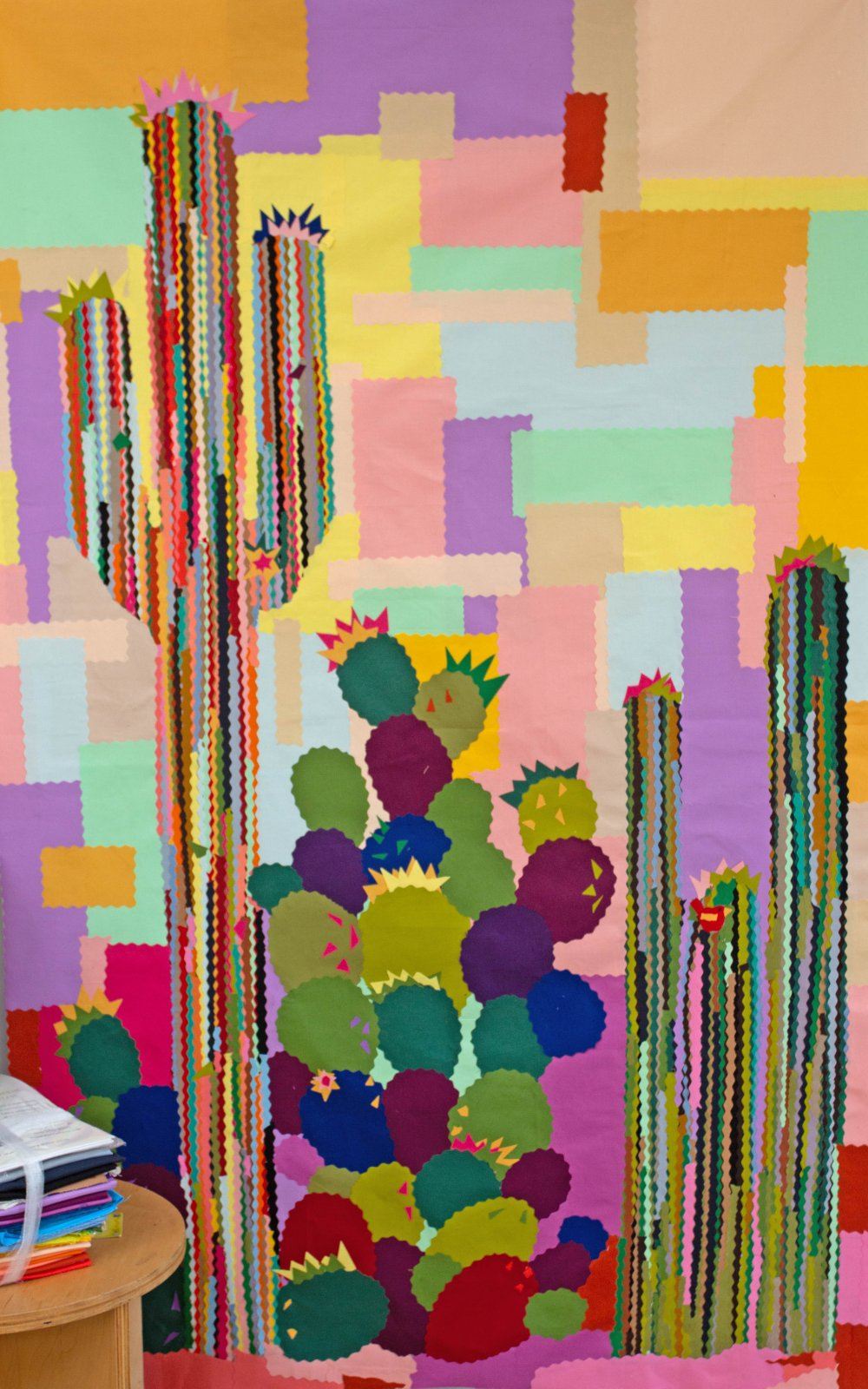 Cotton Couture Cacti Collage Kit