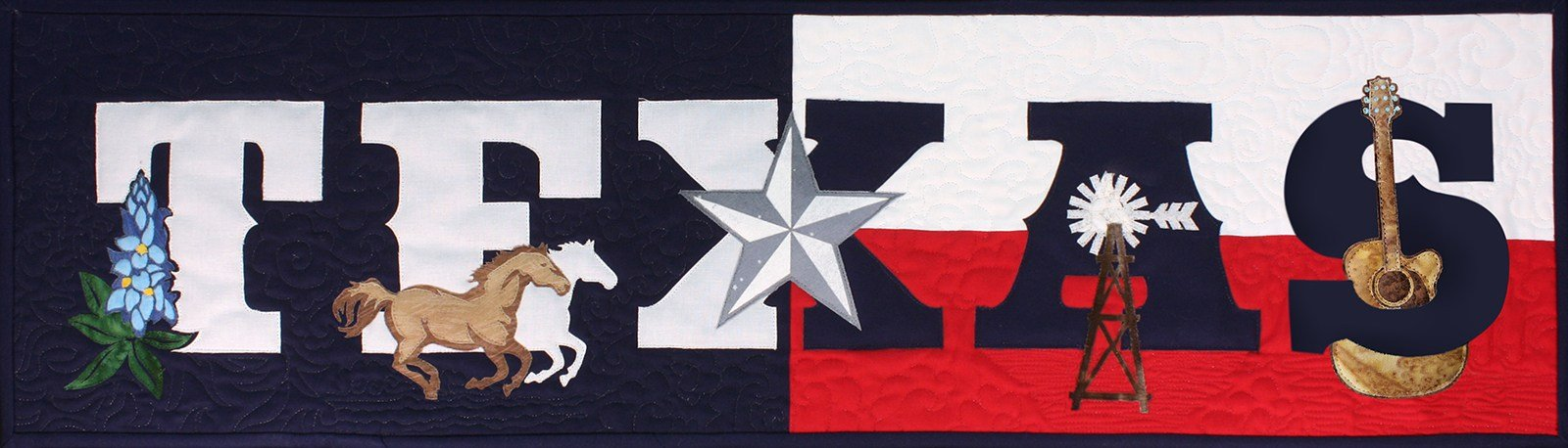 State Pride Texas Laser-cut Applique Kit