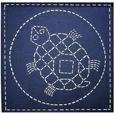 Sashiko Southwest Mimbres Tortoise