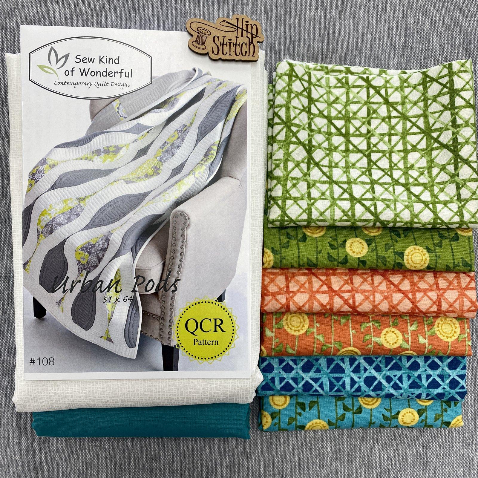 Urban Pod Quilt Kit