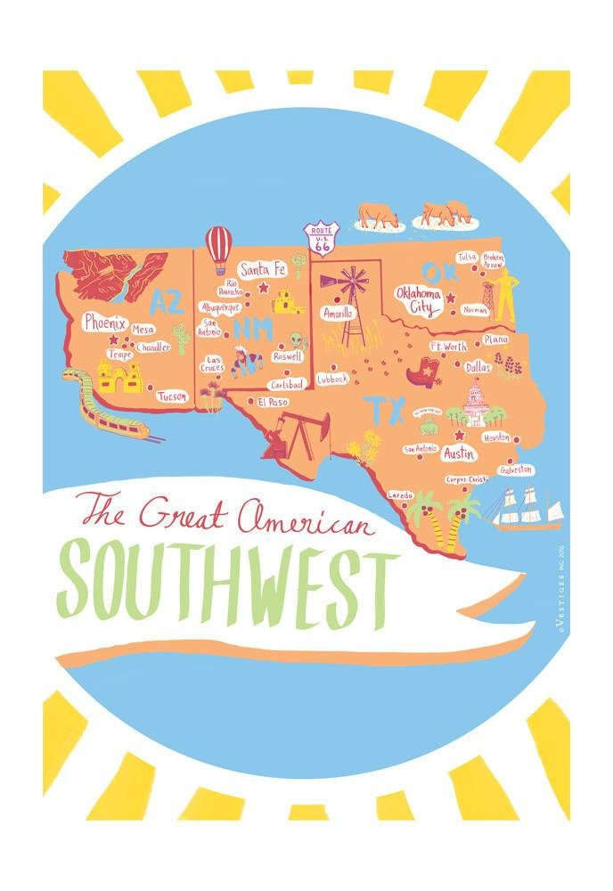 Great Southwest Regional Kitchen Towel