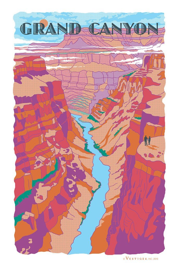 Grand Canyon Kitchen Towel