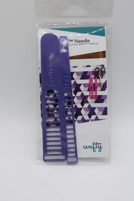 Wefty Fabric Weaving Needle Aubergine