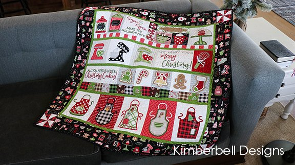 We Whisk you a Merry Christmas Quilt Kit