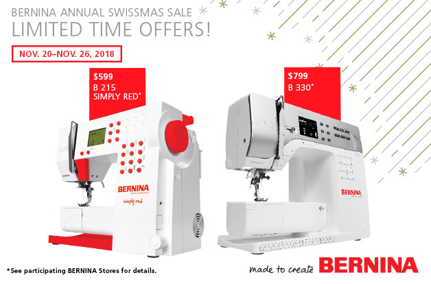 BERNINA Simple Sewing Machine Sales Atlanta Ga