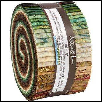 Artisan Batiks-Northwoods Forest 2 1/2 roll