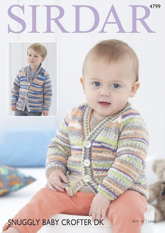Baby Crofter DK Pattern 4799