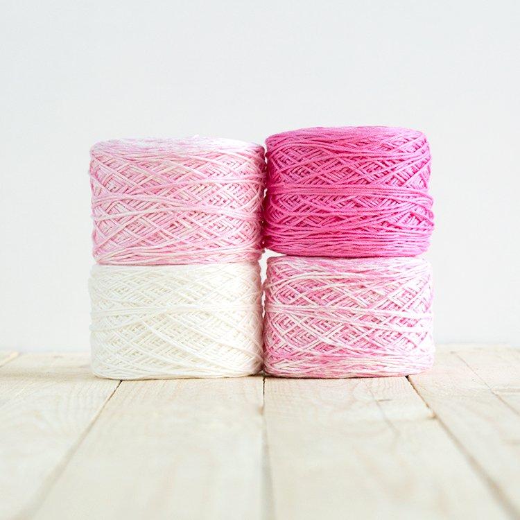 Baby Gradient Blanket 503 Pink