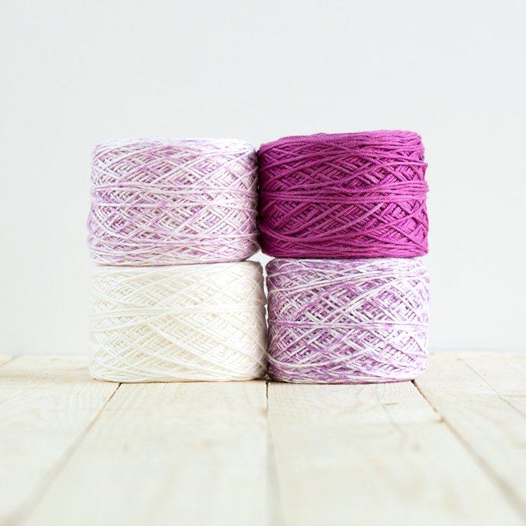Baby Gradient Blanket 515 Fuchsia