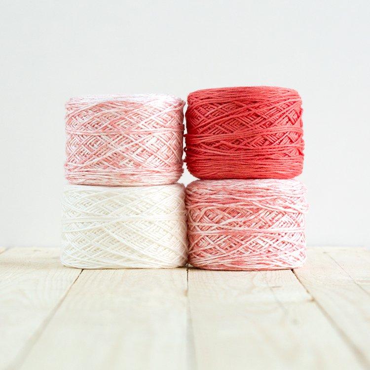 Baby Gradient Blanket 518 Coral