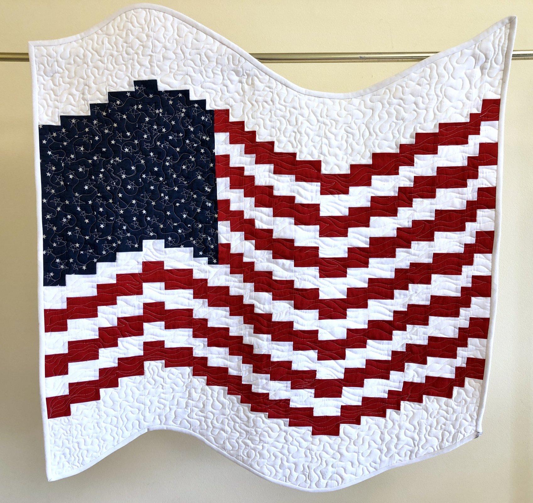 Bargello Flag Kit