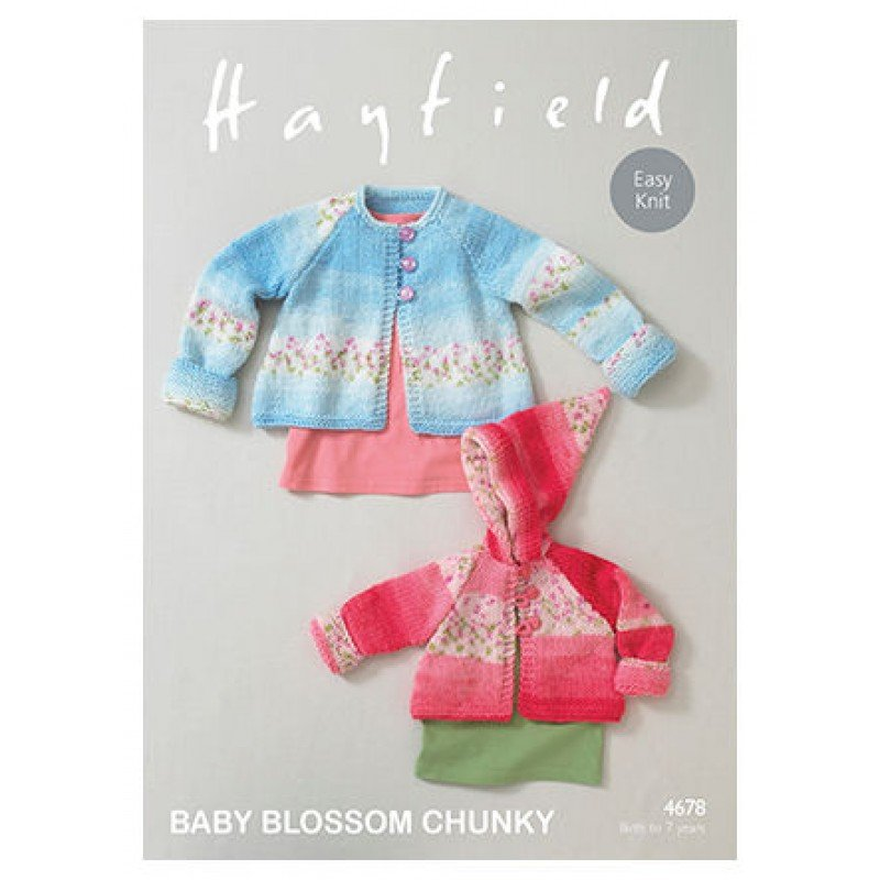 Blossom Chunky Pattern 4678