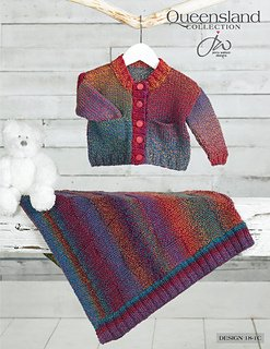 Brisbane Cardigan and Blanket Pattern