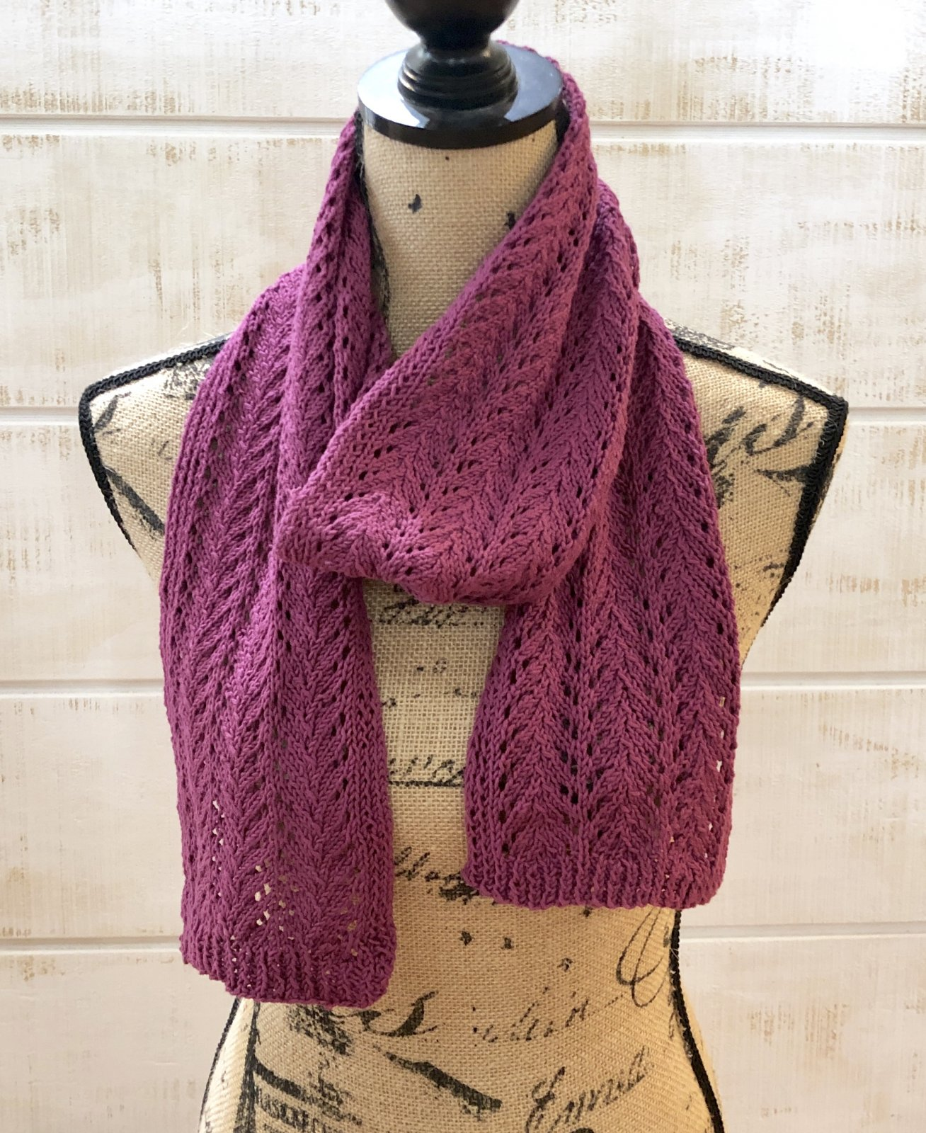 Lace Scarf Kit Silver Dawn