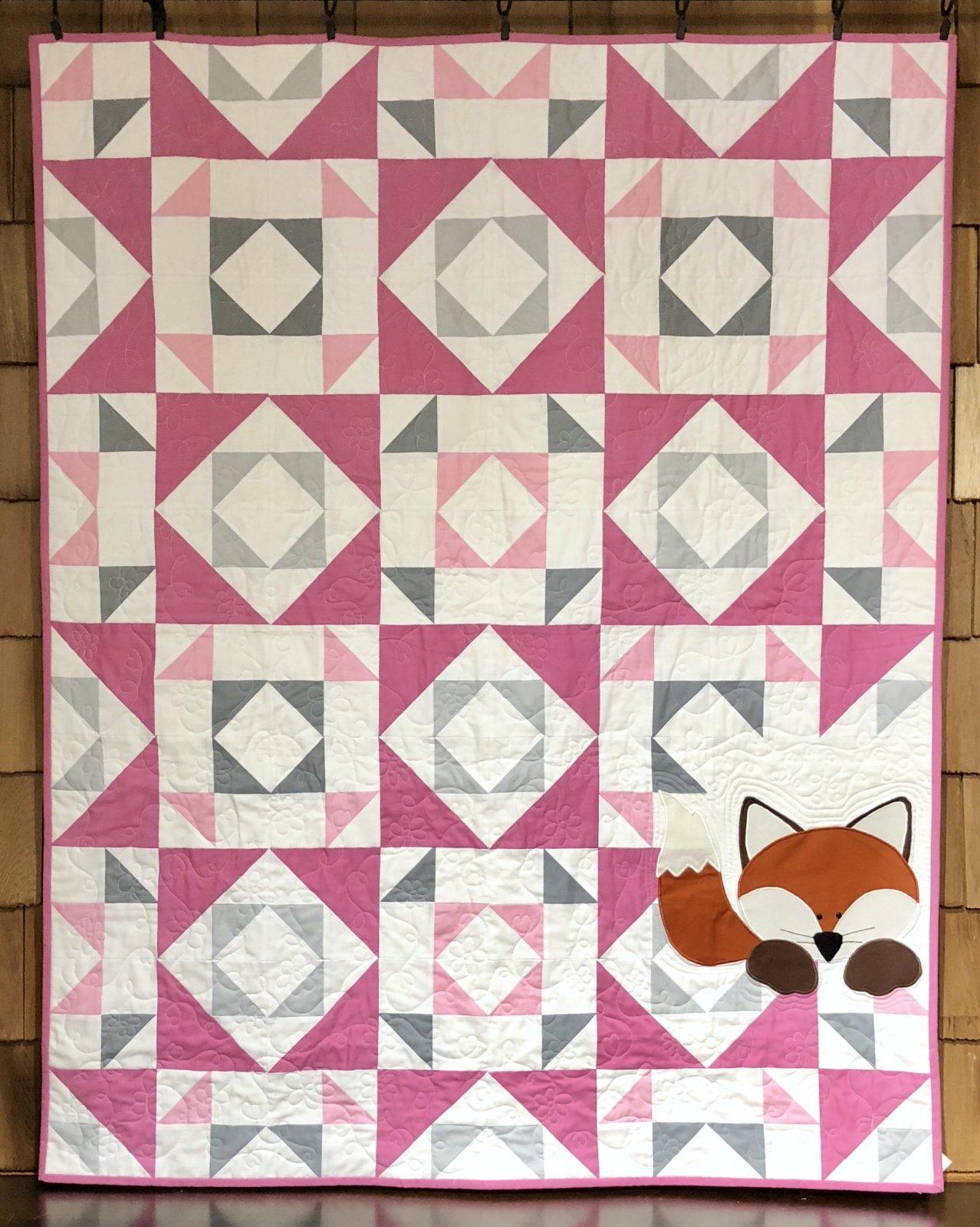 Little Fox Kit in Pink