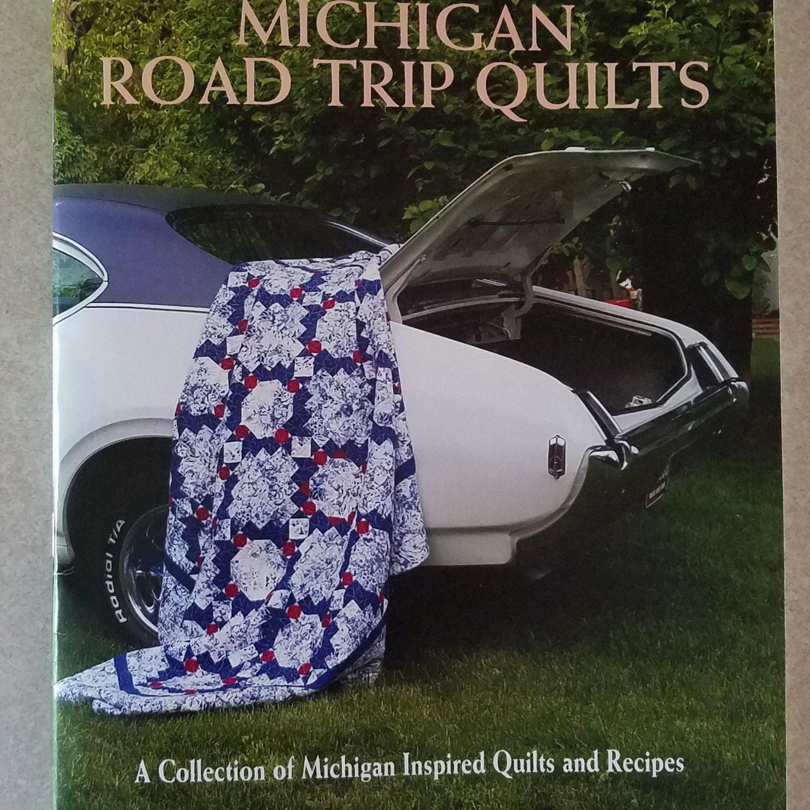 Michigan Road Trip Quilt Book