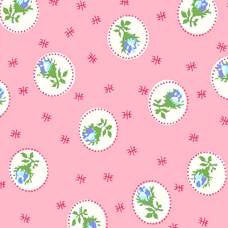 1977 First Blush Pink Rosebuds