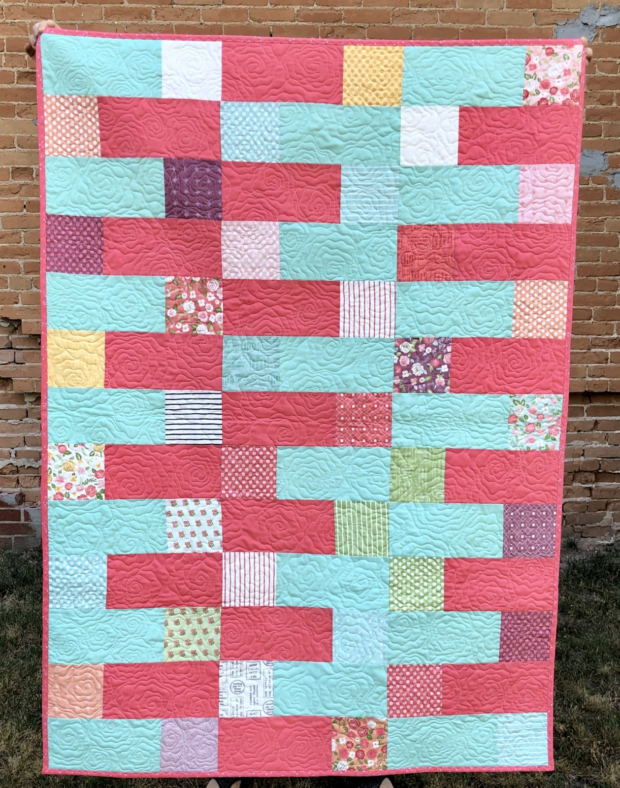 Lollipop Garden Quilt Kit