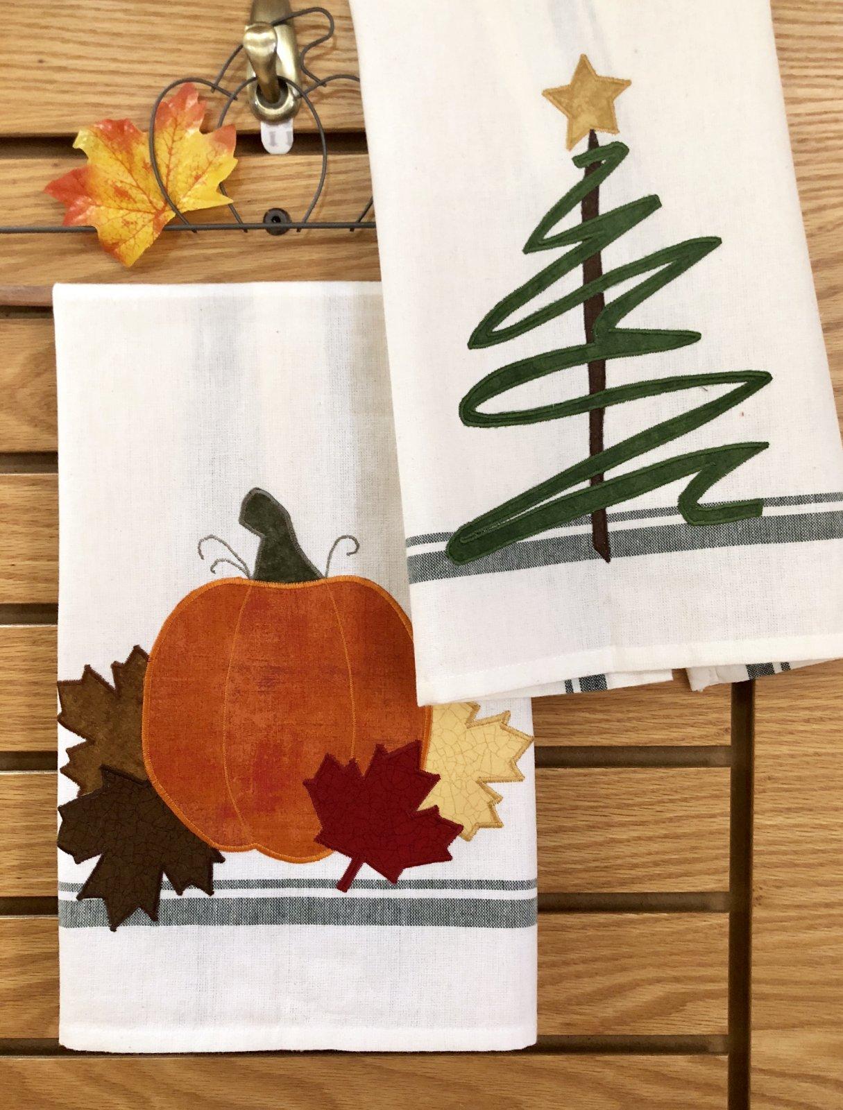 Seasonal Towel Appliques Kit