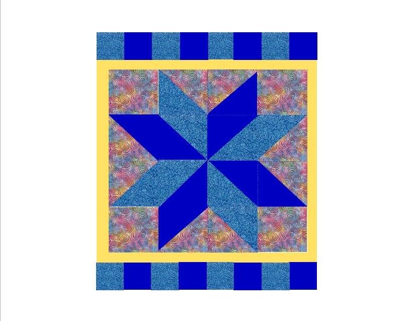 Silver Star-Blue