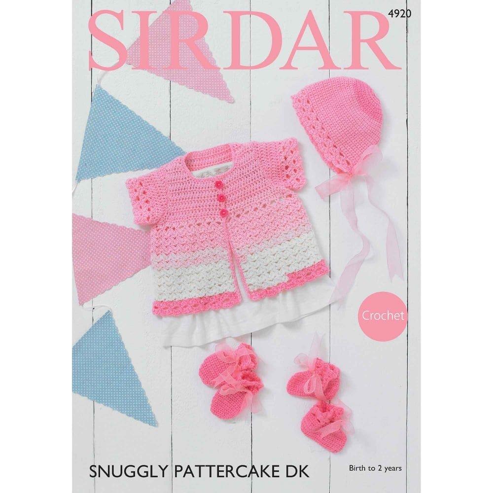 Sirdar Pattercake DK Pattern 4920