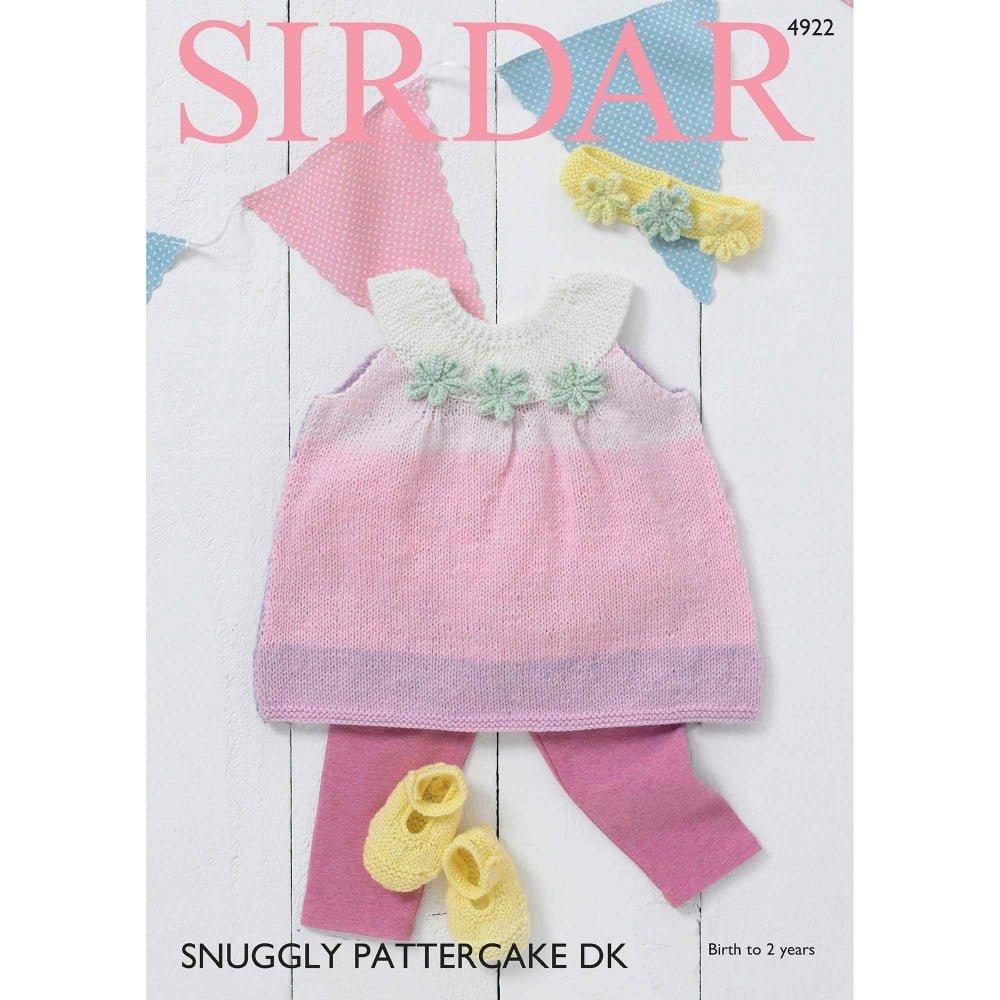 Sirdar Pattercake DK Pattern 4922