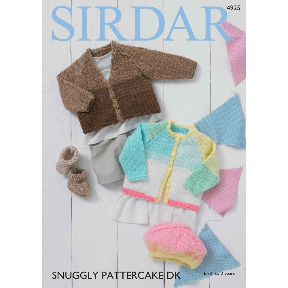 Sirdar Pattercake DK Pattern 4925
