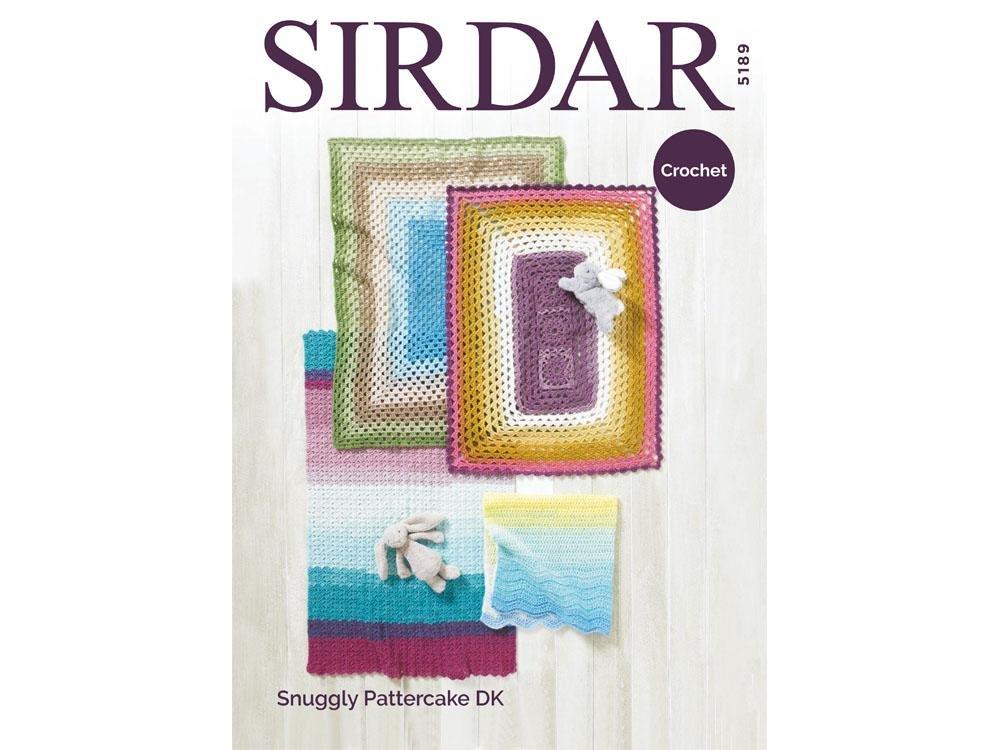 Sirdar Pattercake DK Pattern  5189 Crochet Blanket