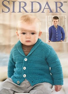Snuggly DK Pattern 4707 Cardigans