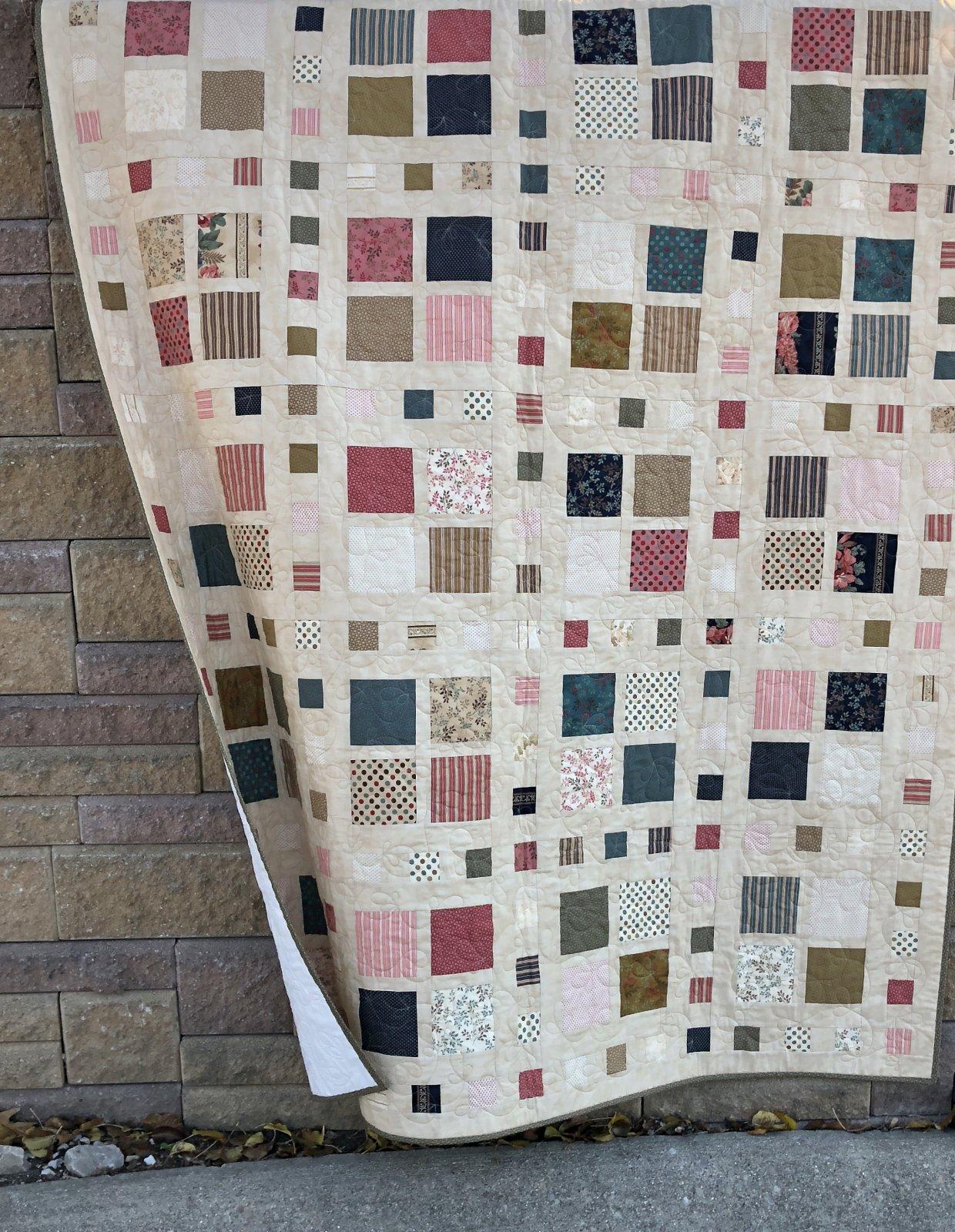 Square Dance Quilt Kit