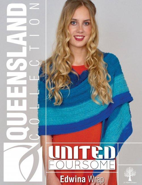 United Foursome Edwina Wrap Pattern