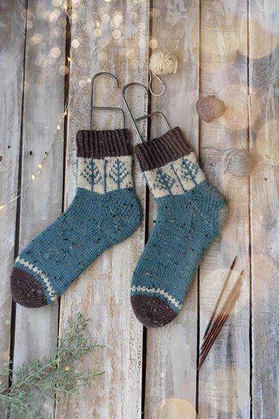 Blue Spruce Sock Kit