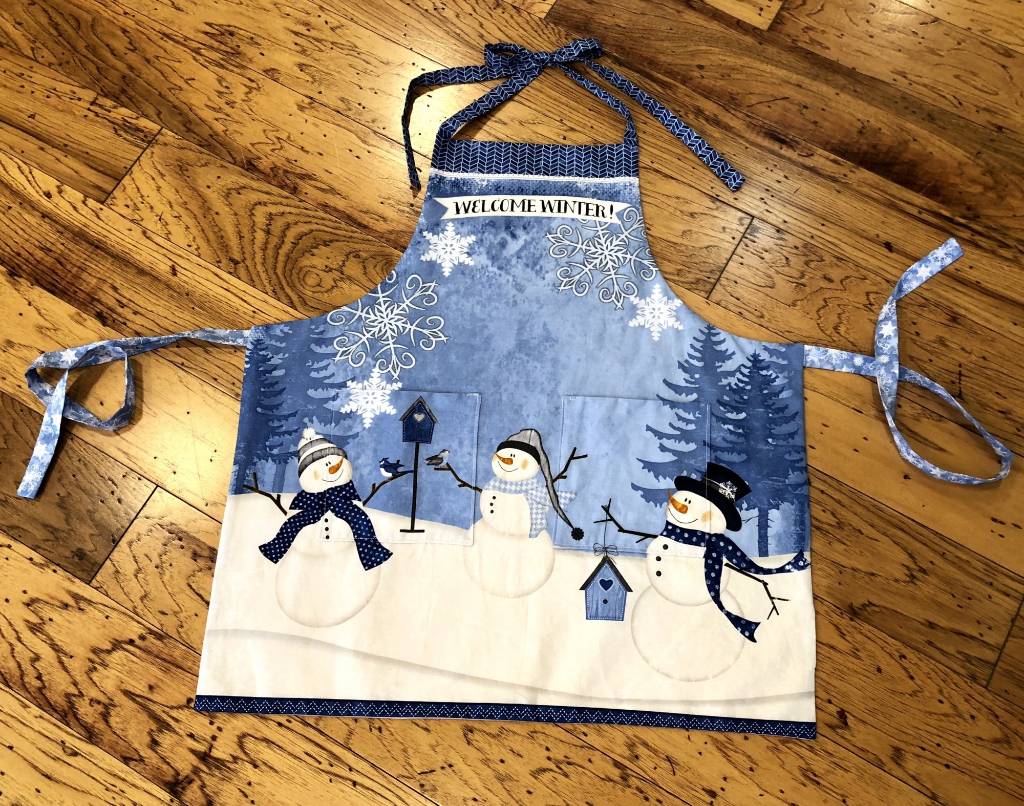 Welcome Winter Apron Kit