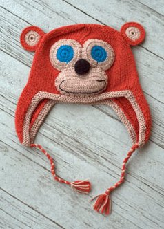 Yarnimal Monkey Copper 00077