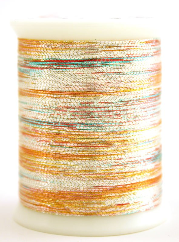 Metallics #031 VARIEGATED SILVER 500 yds.