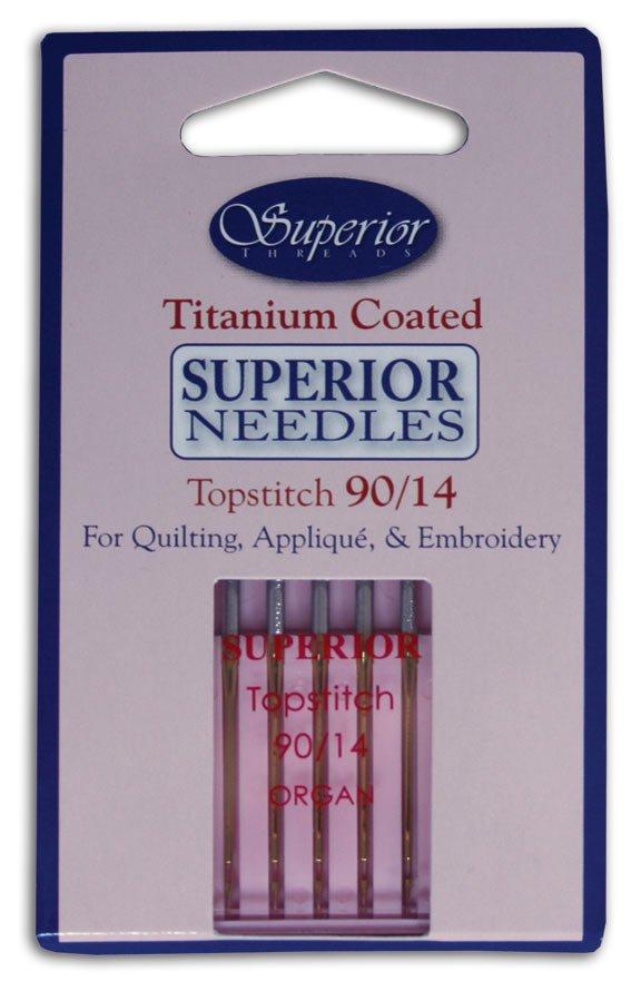 Superior Titanium-Coated Topstitch 90/14