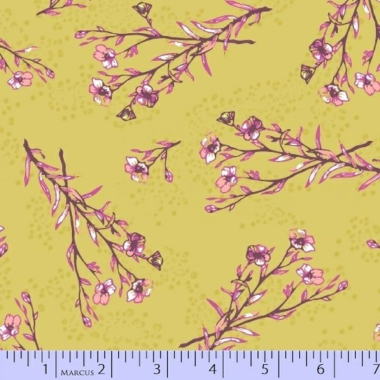 Let It Grow 0542-0532 by Nancy Rink for Marcus Brothers Fabrics