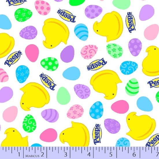 Peeps 0564-0546 Chick & Eggs Easter Candy Print
