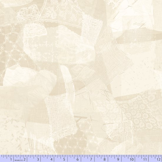Cream Texture Geometric 0788-141 Wide Back 108 in from Marcus Fabrics