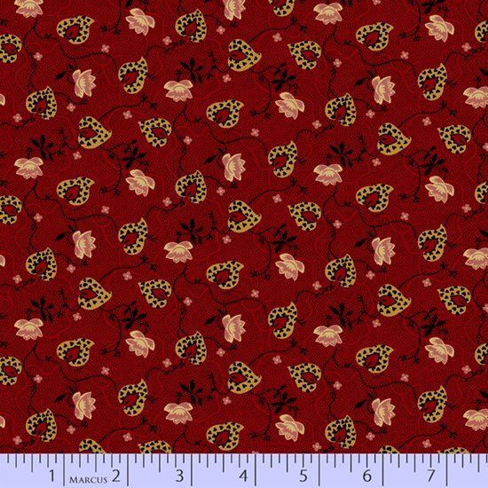Journey to America 0889-0111 by Judie Rothermel for Marcus Fabrics